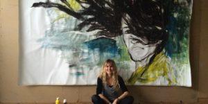Porträt der Künstlerin