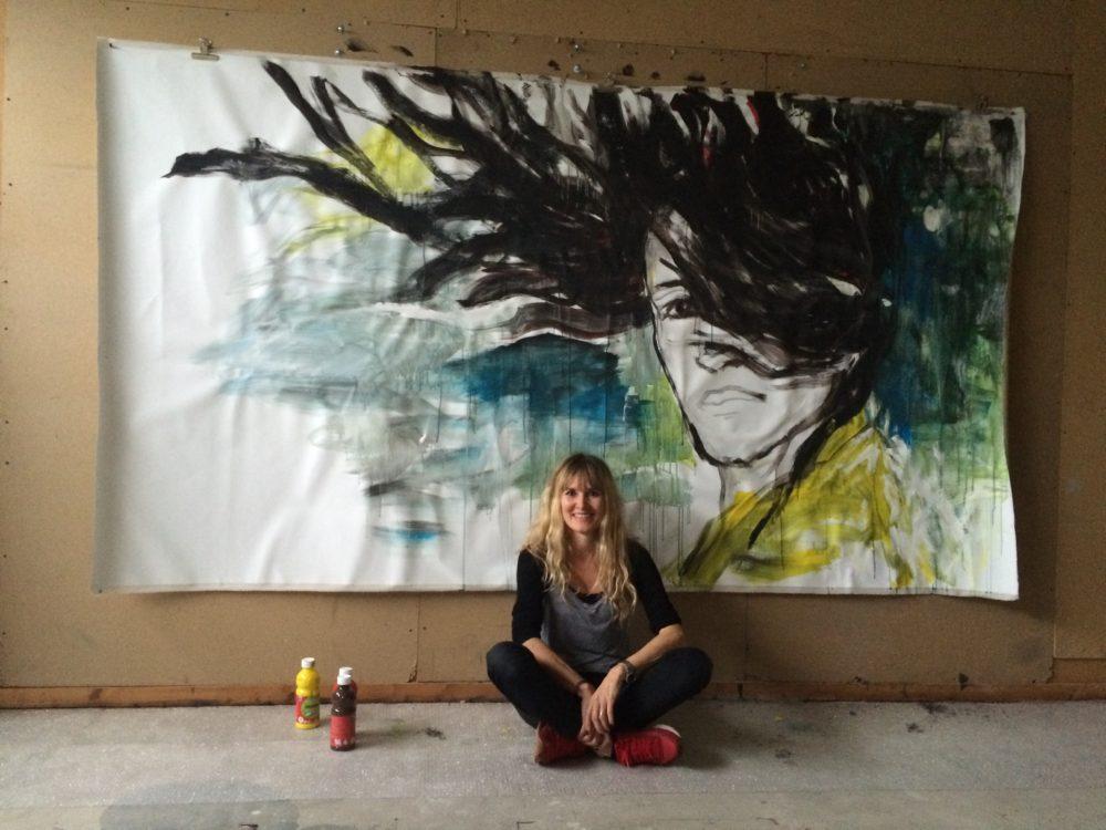 Porträt der Künstlerin Meike Helberger, Foto: Meike Helberger