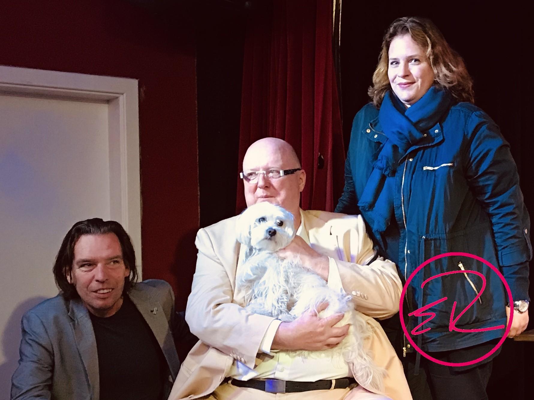 Bäppi and Friends – hier mit Nicole Brevoord und dem Musiker Gabriel Groh