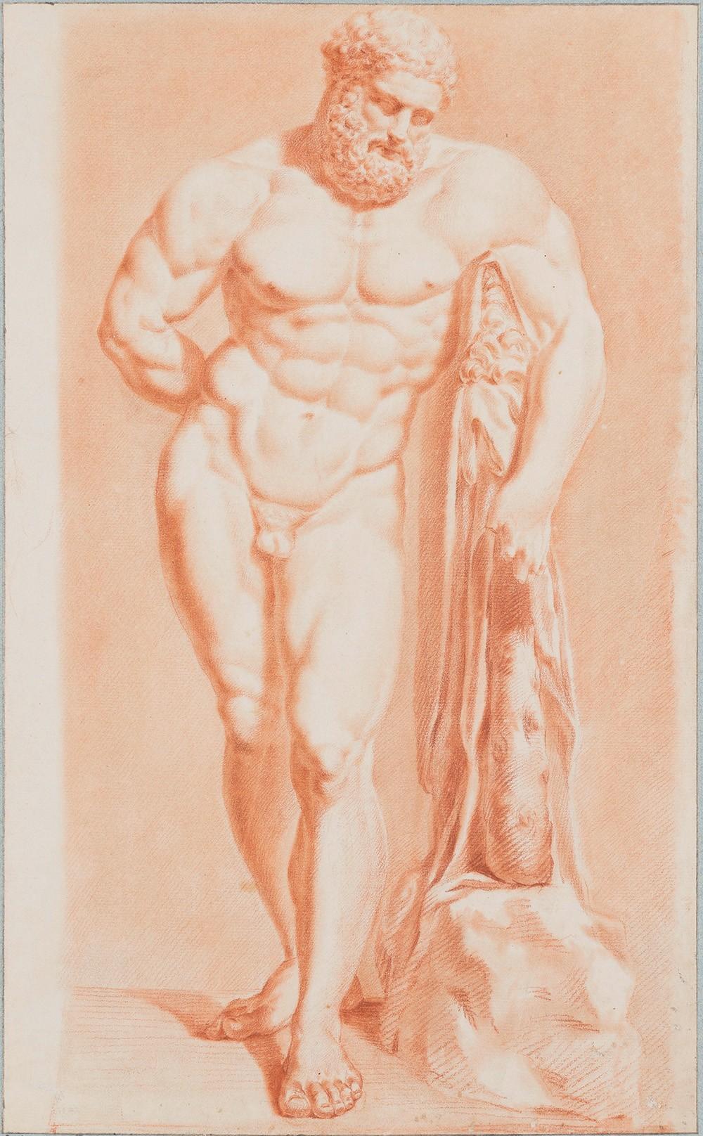 Johann Georg Schütz, Herkules Farnese, 1778 (C) HMF, Horst Ziegenfusz