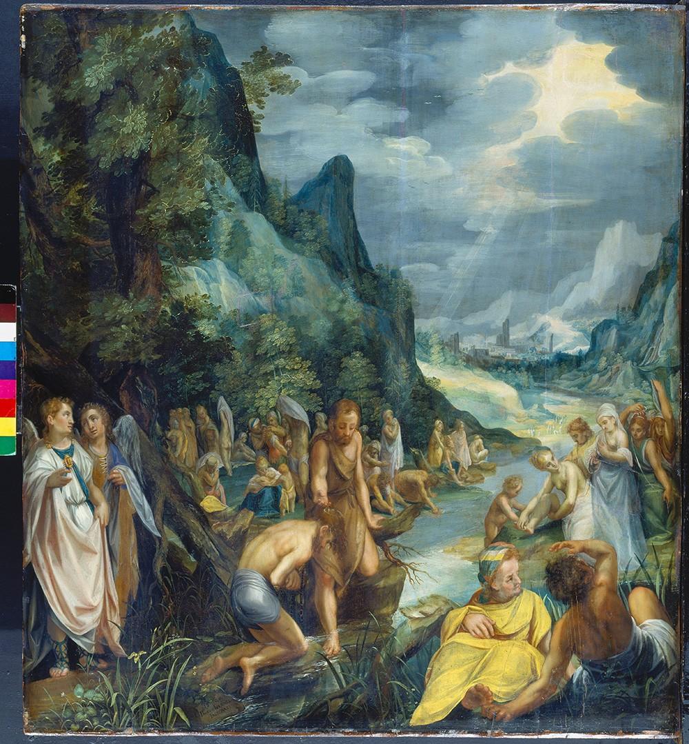 Paul Juvenel d.Ä., Taufe Christi im Jordan, 1609, (C) Städel Museum, Frankfurt