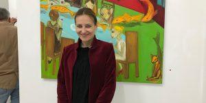 Freuen sich auf das Galerie-Opening! Künstlerin Marilena Faraci (links) und Galeristin Heike Sterna (Der Mixer) Foto: Edda Rössler