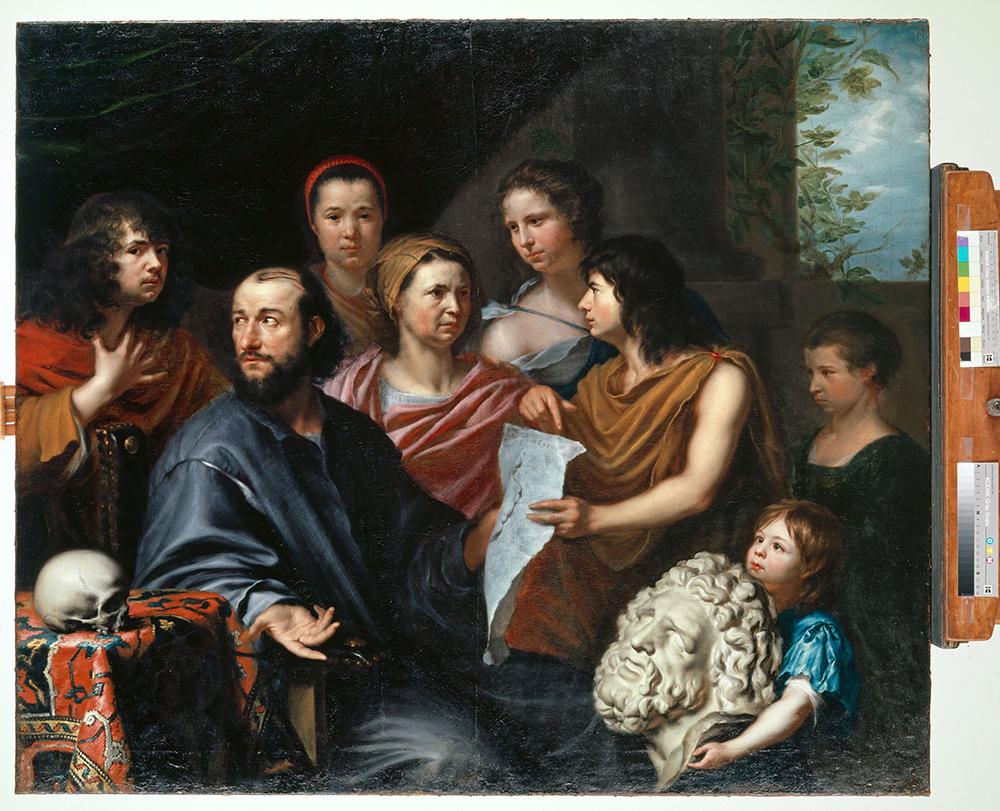 Matthäuse Merian, Familienbildnis (C) Kunstmuseum Basel, Foto: Kunstmuseum Basel, Martin P. Bühler