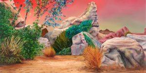 """Argus X_Panorama""_135x180cm_2019, Copyright (C) Galerie Andreas Greulich"