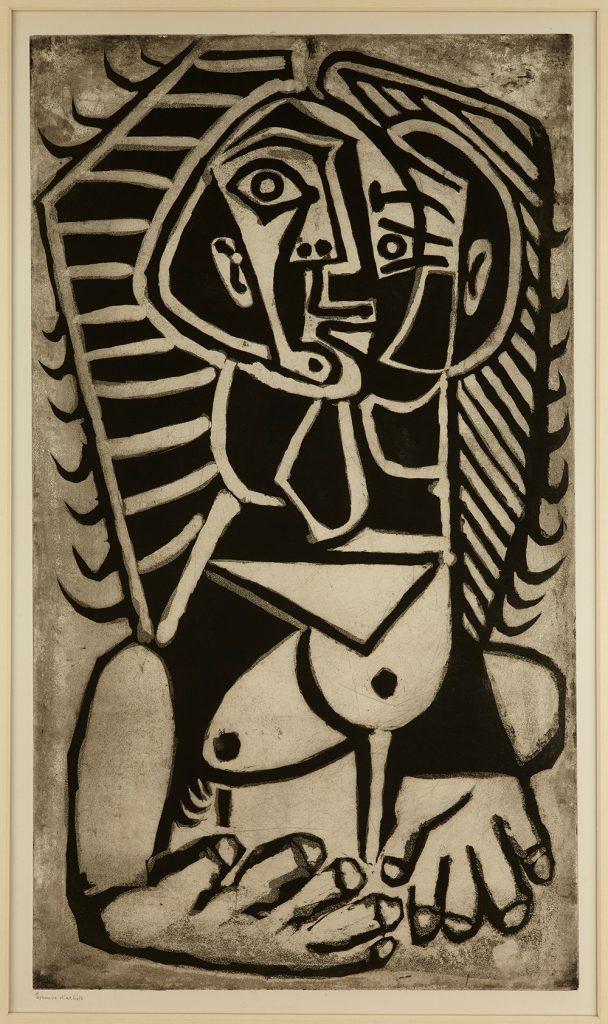 Torse de Femme 1953, Zuckerlift-Aquatinta auf Bütten © Die Galerie