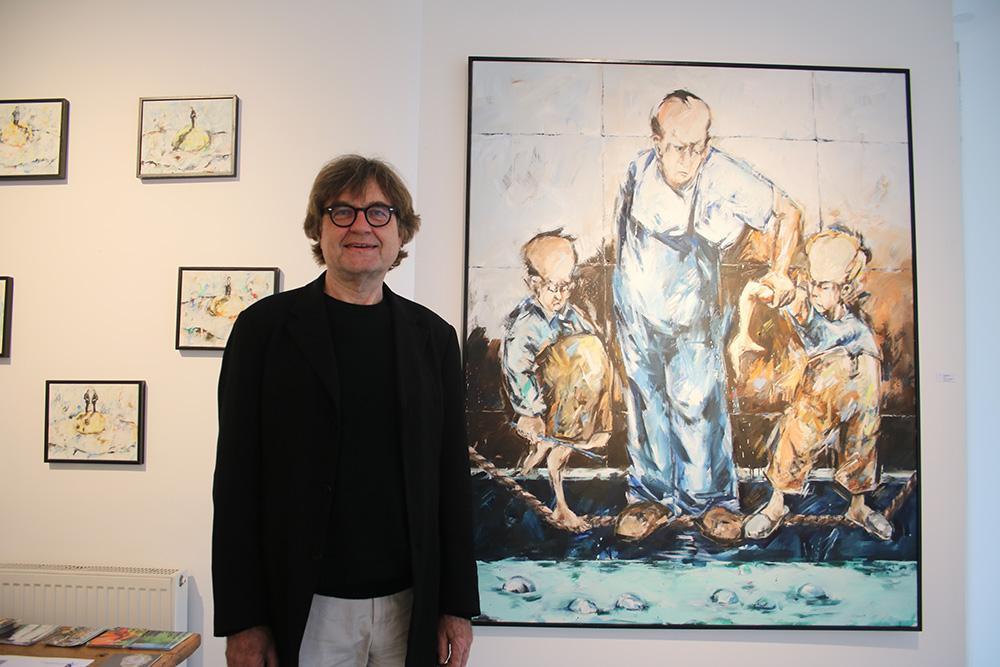 Der Frankfurter Galerist Alexander Berghout (Fotograf: Edda Rössler)