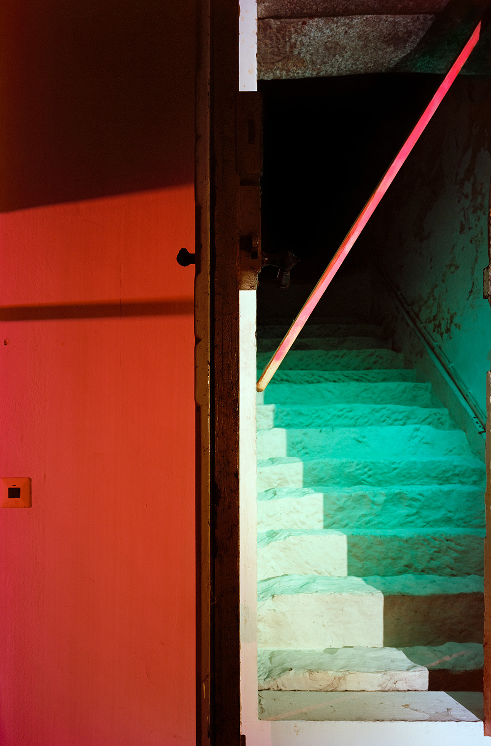 Andrea Grützner ohne Titel aus der Serie Erbgericht Pigment Druck auf Ilford Papier 2 Größen 81x60cm 149x100cm 52AP 2019