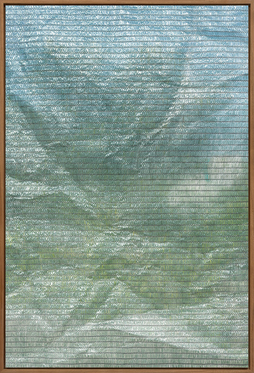 Berit Schneidereit draperie V mit Rahmen, Tintenstrahldruck, 48x33cm, 5+2AP, 2017