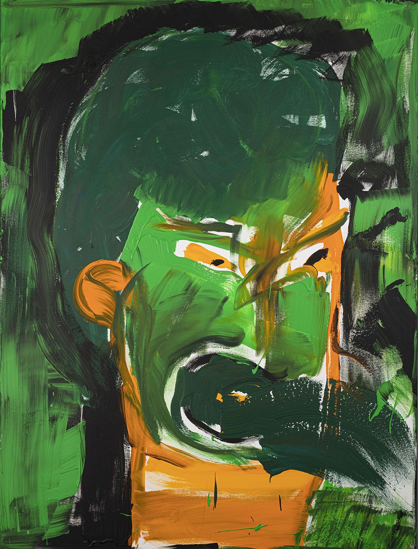 Die andere Ahnengalerie Kilian 2013 Acryl auf Leinwand 120x160