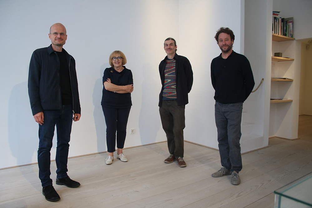 (v.l.) Jürgen Krause, Anita Beckers, Jens Risch und Jan Schmidt