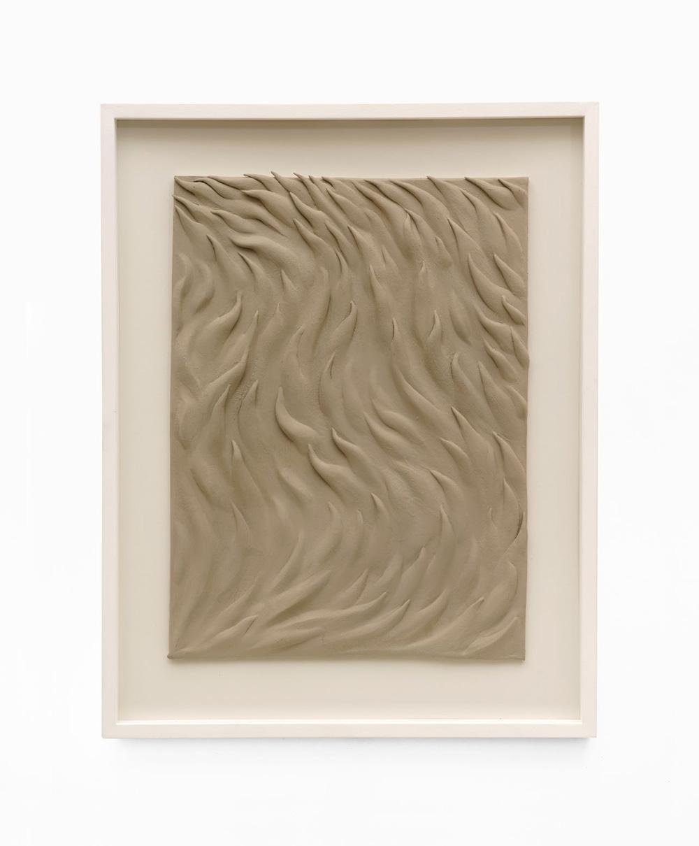 02_Riverscape (Keramik) Immanuel Birkert Riverscape (1), 2020 Öl auf Keramik