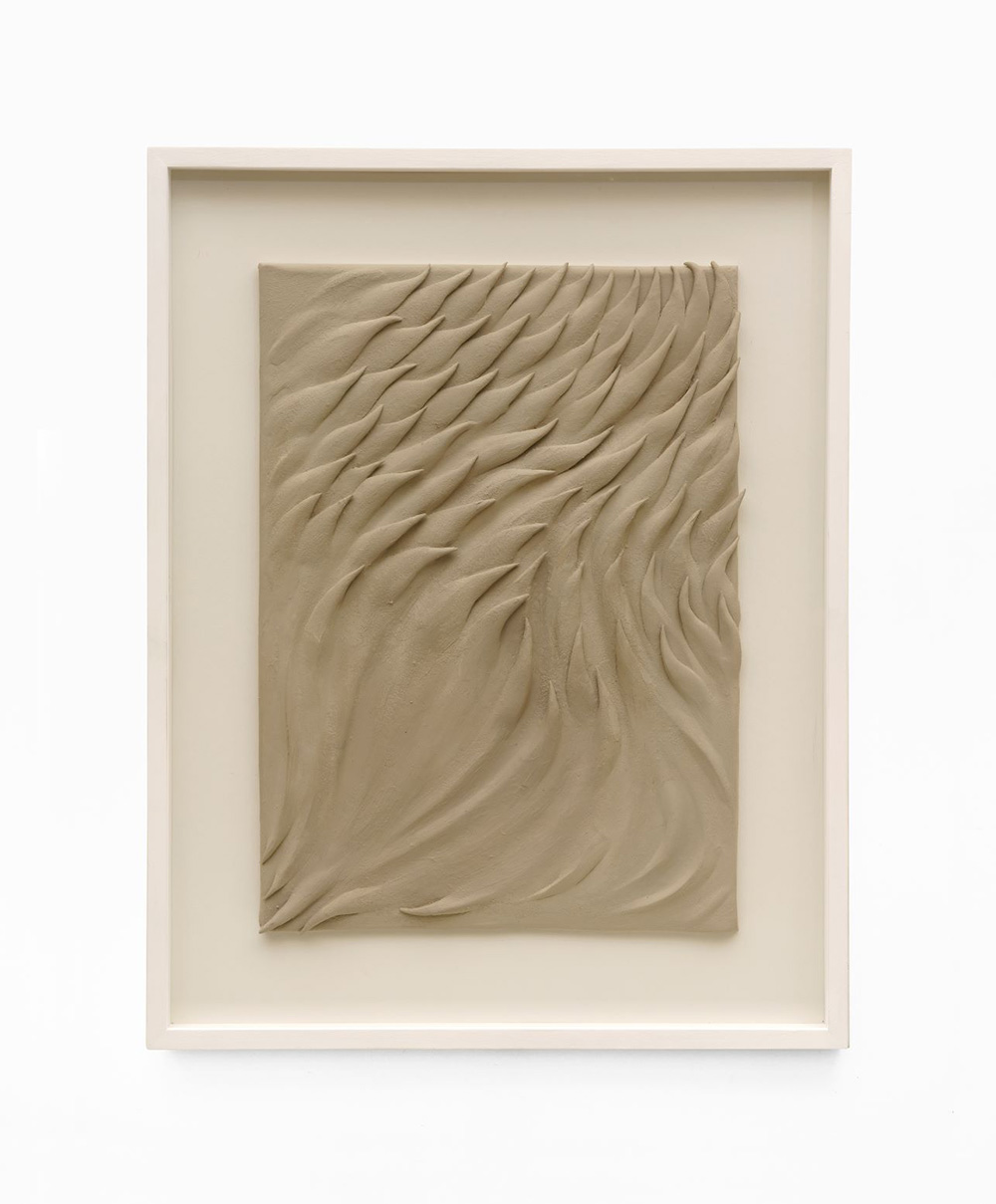 03_Riverscape (Keramik) Immanuel Birkert Riverscape (2), 2020 Öl auf Keramik 45 x 35 cm, gerahmt