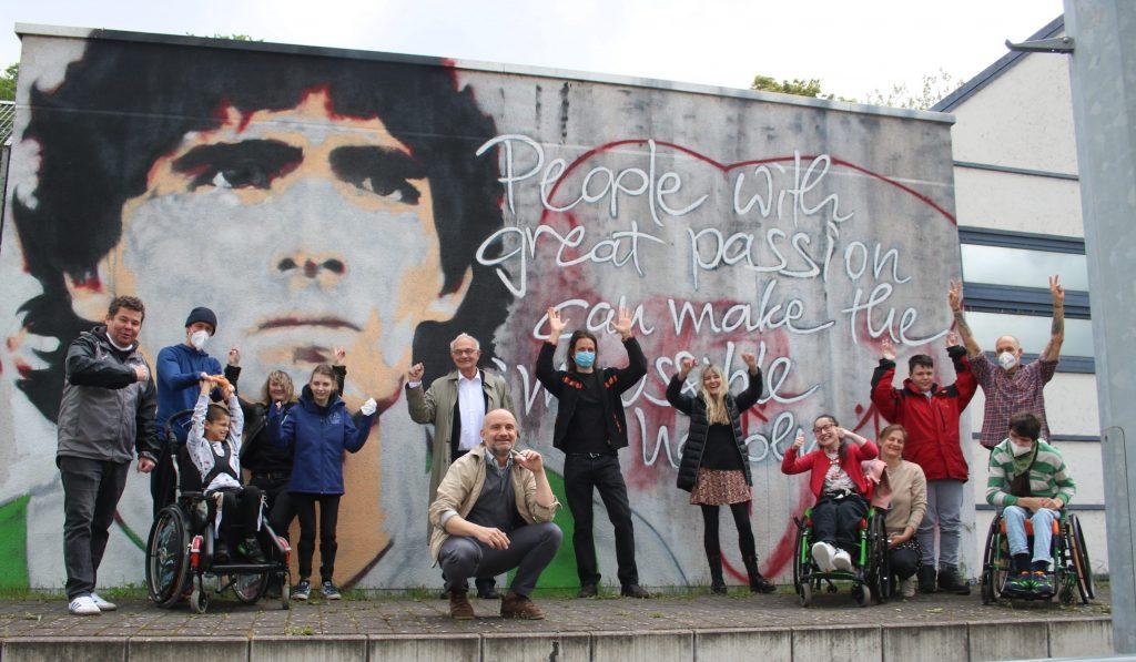 Neue Graffitiwände sorgen bei der Concordia für Begeisterung  (Foto: Edda Rössler)